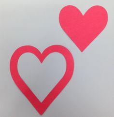 """3"""" hearts"""