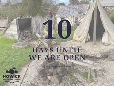 Only 10 days until we reopen to the public! Are you as excited as us?! For information on Covid-19 safety measures in place at the Village please visit our website. #auckland #museums #howickhistoricalvillage #eastauckland #nz #family #activity #supportlocal #howick #howickhistorical #hhv Early Settler, Daily Activities, Auckland, 10 Days, Museums, Safety, Public, Website, History