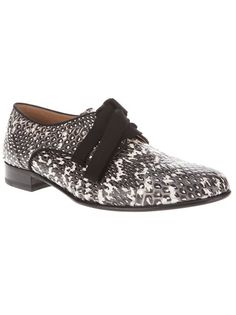 22fe4ae121a Lanvin snakeskin brogue Toms Outlet