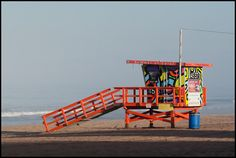 Lifeguard Tower, El Porto