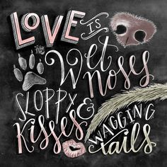Dog Decor Dog Lover Gift Dog Quote Dog Art by TheWhiteLime on Etsy                                                                                                                                                                                 More