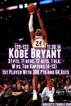Kobe Bryant - 11.30.14 - W vs. Toronto Raptors www.basketas.lt www.storkli.com http://ift.tt/1zdi1z4 http://ift.tt/1ua2s2P http://ift.tt/1zdi1Pi http://ift.tt/1ua2rfiwww.basketas.lt www.storkli.com...