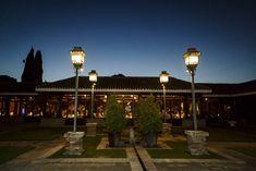 Precios foto iluminada por la noche en el jardín de Porches Porches, Outdoor Gardens, Event Organization, Photos, Front Porches, Verandas, Porticos, Terrace