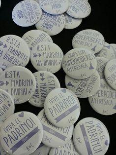 Chapas Bodas, Chapas personalizadas. #Chapea, www.chapea.com