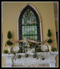 I am head over heels in love with that window!!!
