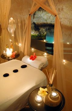 Grotto Spa in Bermuda - it is inside of natural cave!