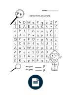 Imagini pentru detectivul de litere Word Search, Activities For Kids, Periodic Table, Alphabet, Google, Words, Periodic Table Chart, Alpha Bet, Kid Activities