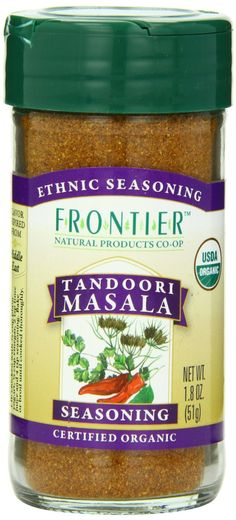 Frontier Herb Tandori Masala Seasoning - Organic - 1.8 oz