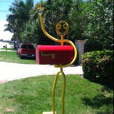 cute mailbox idea!