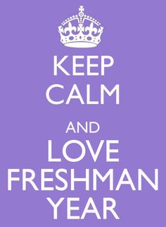 What I Wish Someone Told Me Freshman Year | SRTrends