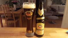 Number 397:Woke up to yet another huge snowfall.Out to clear it then back in to work.Finally finished the 4000 word epic Key West post.Caught up with some correspondence then hit the gym.That was not easy, but felt good.The Beer:Erdinger Pikantus from Erdinger Weissbrau of Erding, Germany.Now this WAS a weizenbock. And boy, what a great beer – seek it out!