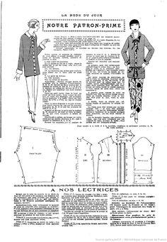 La Mode du jour. 1925/07/23