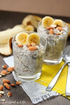 Eat Good 4 Life » Banana chia seed pudding