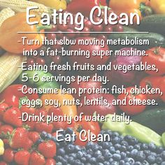 Is it time to start eating clean? I believe it is, why not start today. It is rather simple, eat what is nutritious and you will reap the rewards.
