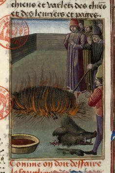 Paris, Bibl. Mazarine, ms. 3717, f. 060 - vue 3