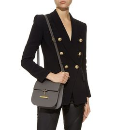 Accessories: Shoulder Bags TOM FORD Small T-Clasp Crossbody Bag