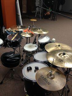 Studio set up kit drum cover