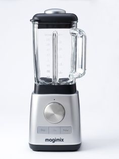 """Magimix Blender - the other """"what else"""" appliance. Blends anything + comes w/ smaller jug for grinding seeds, grain, spices or beans to powder."""