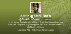 Plants,Pots,Place ... all about growing your own fruit with @starkbroscares on Twitter #gardenchat