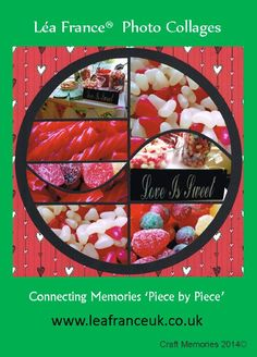 """Created using the Harmony Template five 6x4 photos and one sheet of 12""""x12"""" cardstock & one sheet of 12""""x12"""" paper"""
