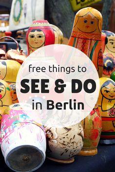 Cosas gratis en Berlín. Alemania