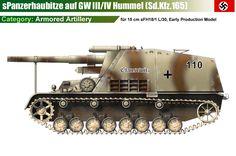 15cm SFH18 auf GW III/IV Hummel