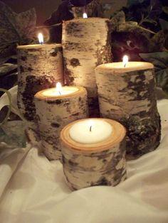 Przyciągające wzrok dekoracje i ozdoby z brzozy
