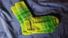 Handgestrickte Socken Gr.40/41 von Heike`s Zauberwerkstatt auf DaWanda.com