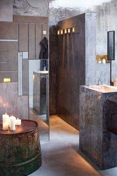 Areias do Seixo Charm Hotel & Residences By Vasco Vieira Architect – Terra Room 05 Classic Bathroom, Modern Bathroom, Bohemian Bathroom, Bathroom Styling, Bathroom Interior Design, Heated Toilet Seat, Log Cabin Designs, Bathroom Trends, Bathroom Ideas