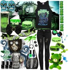 """Halloween Series:day 2"" by yeah-boy-and-doll-face ❤ liked on Polyvore"