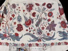 Petticoat  Place of origin: Coromandel Coast, India (made)  Date: ca. 1725 (made)  Artist/Maker: Unknown (production)  Materials and Techniques: Painted and dyed cotton chintz  Credit Line: Given by G.P. Baker  Museum number: IS.14-1950  Gallery location: In Storage