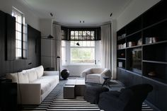 Contemporary Living Room by Vincent Van Duysen