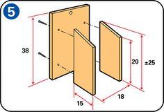 Bir kuş evi yapma - Kuş evinin yan panellerinin monte edilmesi