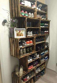 Shoes organizer for closet