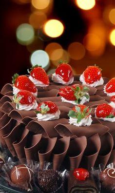 Bolo Chiffon de Chocolate