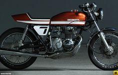 Honda CB400F Custom Racer