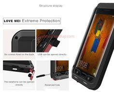 Love Mei Powerful HuaWei Mate 9 Pro Protective Case