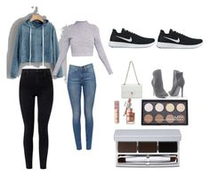 """Untitled #5"" by michellemastberg on Polyvore featuring J Brand, Chanel, Venus, NIKE, NYX and RMK"