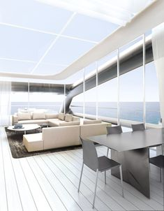 jolly roger mega-yacht by ludovica + roberto palomba for benetti