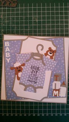 Gemaakt door Hella Coolen: baby rompertje