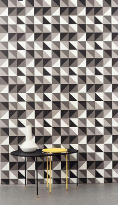 Geometric Wallpaper from Ferm Living - The Design Sheppard