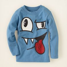 baby boy - graphic tees - smirk scribble graphic tee | Children's Clothing | Kids Clothes | The Children's Place