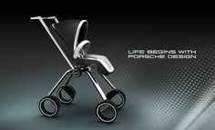 Porsche Baby Stroller. It fits in the trunk of a 911!