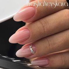 Wedding Nails-A Guide To The Perfect Manicure – NaiLovely Classy Nails, Trendy Nails, Fancy Nails, Nude Nails, Stiletto Nails, Nailed It, Swarovski Nails, Nagel Gel, Almond Nails
