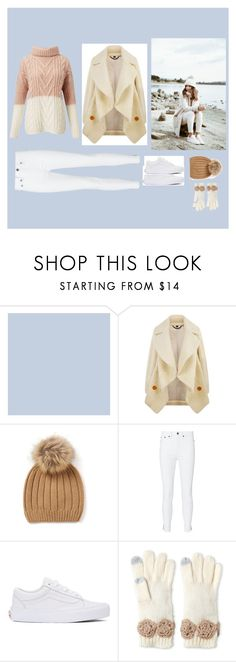 """""""White Winter"""" by erna-huremovic ❤ liked on Polyvore featuring Burberry, rag & bone, Vans, Betsey Johnson and Miss Selfridge"""