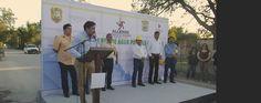 Más de cien familias resultaran beneficiadas, gracias a la instalación de red de agua potable, que inauguró este día el alcalde Luis Reynaldo Tapia Valadez.