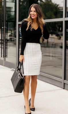 2de270d451 2320 Best {Pencil Skirt Outfits} images in 2019 | Office looks ...