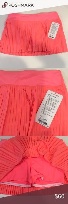 NWT Lululemon Pleat To Street Skirt II NWT lululemon athletica Skirts