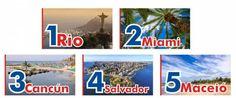 Río de Janeiro, es la playa elegida por los turistas para veranear