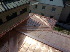 Copper Roof, Roof Design, Garage Doors, Deck, Outdoor Decor, Inspiration, Home Decor, Atelier, Biblical Inspiration